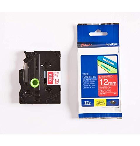 Brother TZ435 Schriftbandkassette 12mm 8m für P-touch 200/210E/220/300/310/340/340C/350/540/540C/550/1000/1200/1200