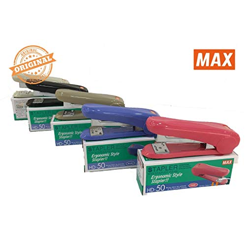 Max Stapler HD-50 with 2 Boxes Max Staples No.3-1M (up to 30 Sheets of Paper) Photo #3