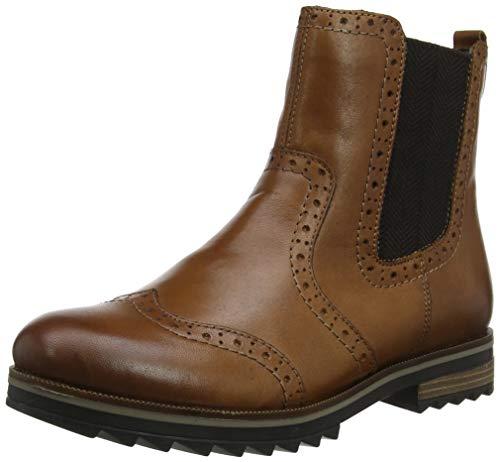 Remonte Damen R2289 Chelsea Boots, Braun (Muskat 24), 39 EU