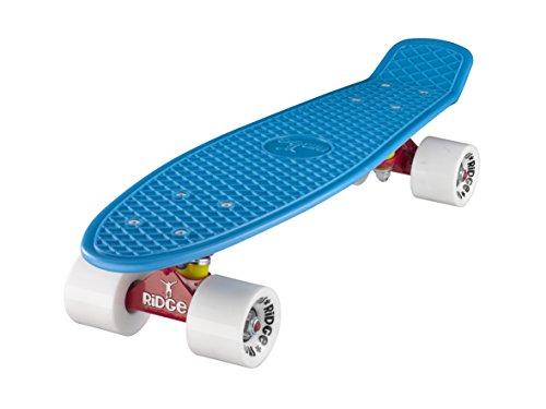 Ridge Skateboards Mix It Up Series Mini Cruiser Board Skateboard ,komplett, 55cm