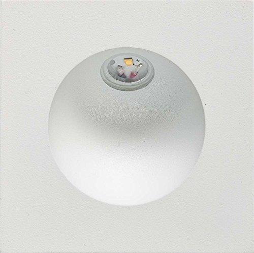 EVN Lichttechnik P-LED Wandeinbauleuchte P20402 ws IP54 700mA 2W 3000K Decken-/Wandleuchte 4037293010566
