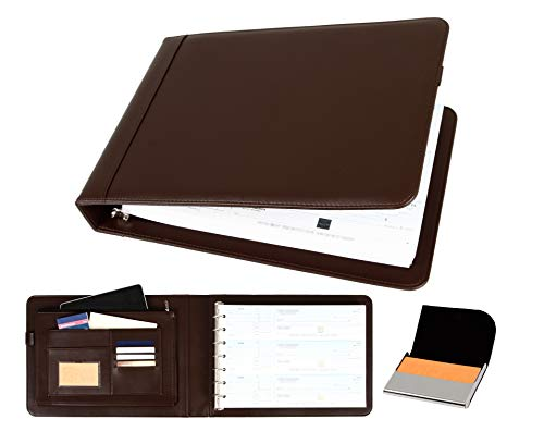2Fold Supply Business Check Binder 7 Ring for 3-Up Business Size...