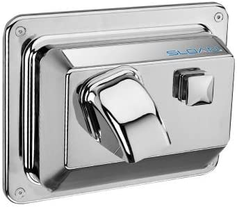 Sloan EHD-354 Push Button Activated Hand Dryer for recessed moun