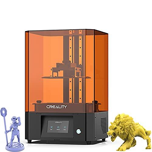 DBKJ Official Creality LD-006 3D Printer 8.9in 4K 3840 * 2400 High Resolution Monochrome LCD 3D Printer UV Photocuring Resin Printer Printing Speed Max 60mm/h 192 * 120 * 250mm