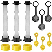 3-Pack Eonlion Gas Can Replacement Spout Kit (GCS-3)
