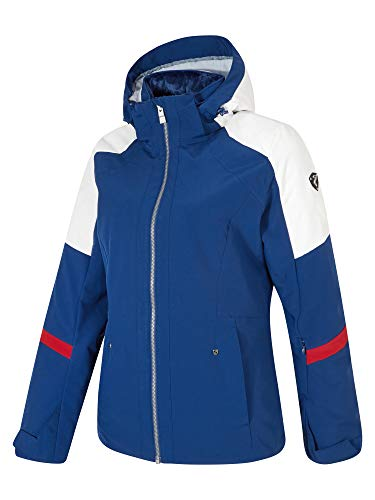 Ziener Damen TRINE Lady (Jacket Ski Snowboard-Jacke/Atmungsaktiv, Wasserdicht, Nautic, 46
