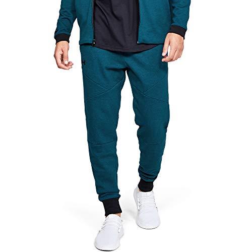 Under Armour Unstoppable - Pantalones de chándal para Hombre (2 Unidades), Hombre, Color Teal Vibe, tamaño XXX-Large