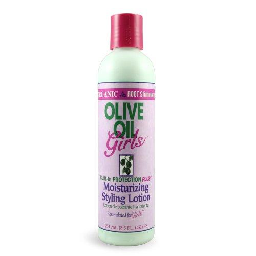 Organic Root Stimulator Lotion Coiffante Hydratante Olive Oil Girls 251ml