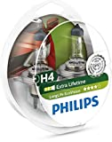 Philips 681224 LongLife EcoVision H4, 12 V, 60/55W, Set de 2