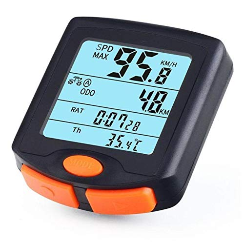 LCM Speed Fahrrad Stoppuhr, Fahrrad Wasserdichter Fahrradtacho Sport Odometer Digitale Fahrradcomputer Mit LCD-Hintergrundbeleuchtung Display Stoppuhr