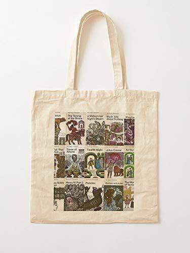 Générique Books - Bolsas de lona con asas, de algodón duradero