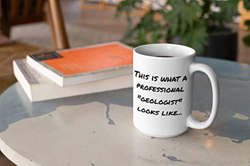 N\A Regalo de geólogo Taza de café Grande Regalo de Nuevo Trabajo Regalos corporativos Regalo de Mentor Fiesta de jubilación Taza Personalizable Tazas de Regalo de colega con Refranes
