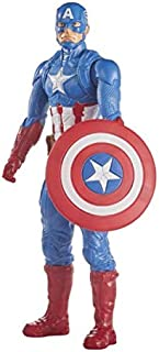 Marvel Avengers Titan Hero Series Blast Gear Captain America Action Figure, 12-Inch Toy, Inspired By Marvel Universe, For ...