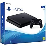 PlayStation 4 (PS4) - Consola Slim 1TB Negra