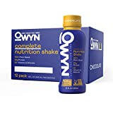 OWYN - 100% Vegan Plant-Based Meal Replacement Shakes | Chocolate, 12 Fl Oz (Pack of 12) | Dairy-Free, Gluten-Free, Soy-Free, Tree Nut-Free, Egg-Free, Allergy-Free, Vegetarian