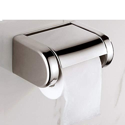 Soporte de papel higiénico Su cepillo de metal 304 Rollo de acero inoxidable Rack Teléfono de soporte Tipo de montaje en pared Tipo de pared Cocina Cocina Bandeja Distribuidor Polaco Chrome Impermeabl