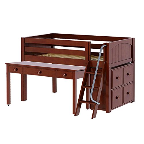 Learn More About Childrens Bunk Beds - Loft Bed with Desk Fred