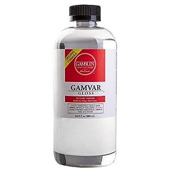 Gamblin Gamvar Picture Varnish - 8.5oz Bottle