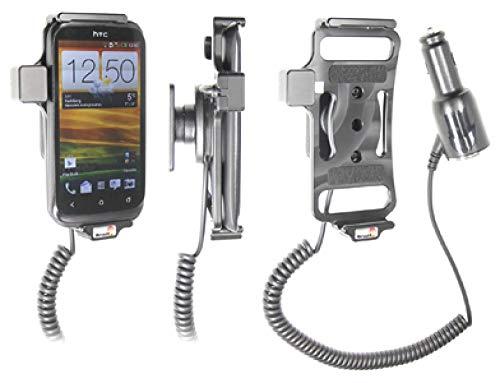 Brodit 512441 Support Voiture HTC Desire X avec Chargeur Allume Cigare avec Rotule orientable