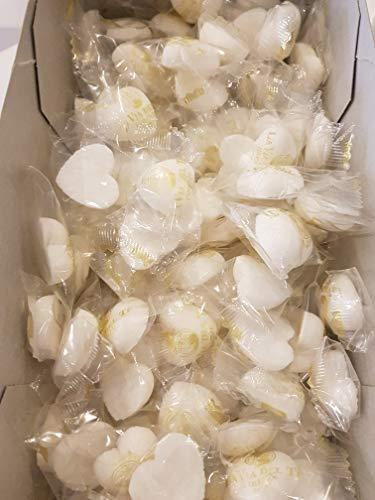 La Via del Tè ZUCCHERO IN ZOLLETTE A CUORE zucchero bianco 100pezzi