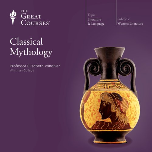 Classical Mythology audiobook cover art