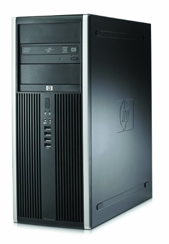 HP Compaq 8000 Elite CMT Desktop-PC (Intel Core 2 Duo E8500 3,1GHz, 2GB RAM, 320GB HDD, Intel GMA 4500, DVD+-RW, Win 7 Pro)