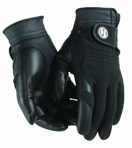 HJ Handschuh Damen schwarz Winter Performance Golf Handschuh, Damen, schwarz