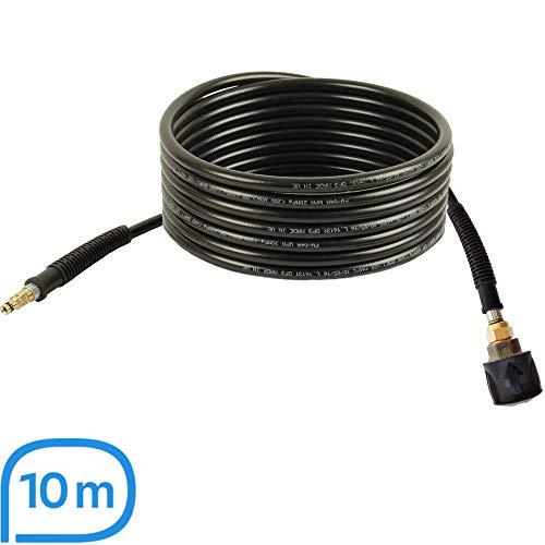 Hochdruckschlauch-Verlängerung   10m, 200bar, 60°C, Quick Connect, NW 6x1   geeignet für Kärcher Hochdruckreiniger