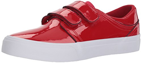 DC Women's Trase V SE Skate Shoe, red, 11 B B US