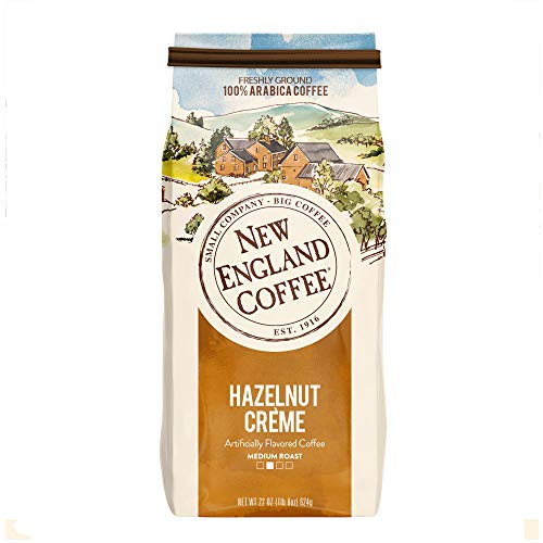 New England Coffee Hazelnut Crème Medium Roast