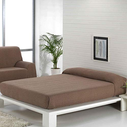 Regalitostv (180 Camel/Marrón) SEDELLA* Colcha Multiusos Foulard Plaid Liso para Cama o sofá Garantizada Fabricado EN ESPAÑA (180_x_260_cm, Camel/MARRÓN)