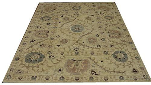 Babak's Oriental Carpets Chobi Ziegler Handmade Afghan Rug 9'9''x 7'9''