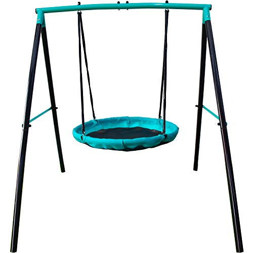 Jump Power UFO Swing Set for 1 or 2 Children, Kids and Toddlers For Fun in Your Backyard 'ASTM...