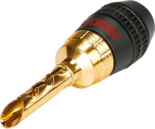HICON Connectors HI-BM05 banaanstekker met lamellen klemcontact rood | HI-BM05-RED