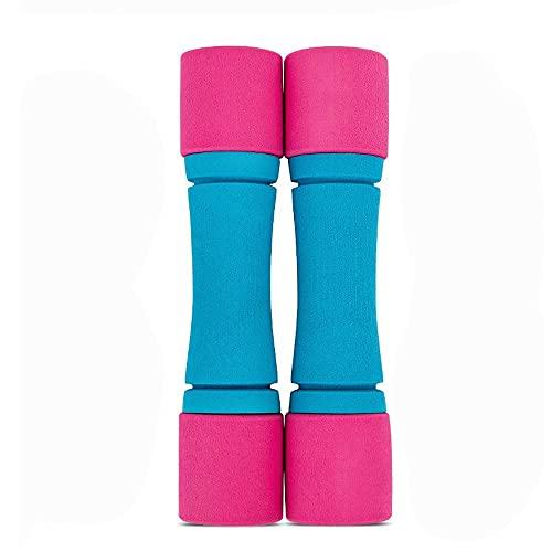 WEI-LUONG Dumbbell Esponja Dumbbell Home Fitness Equipment Yoga Aerobics Dumbbell Plástico Delgado Brazo Movina Movimiento Movimiento