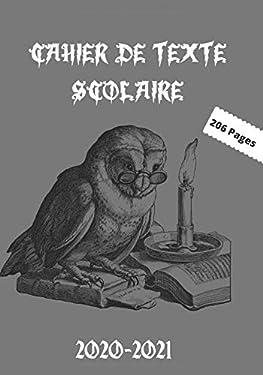 cahier de texte scolaire 2020-2021: Cahier de texte Harry Potter 2020-2021 scolaire. Adapté pour toutes les matières. (French Edition)