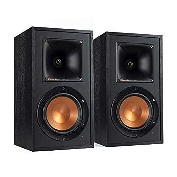 Klipsch Reference Wireless RW-51M Bookshelf Speakers Black  1067509   Renewed