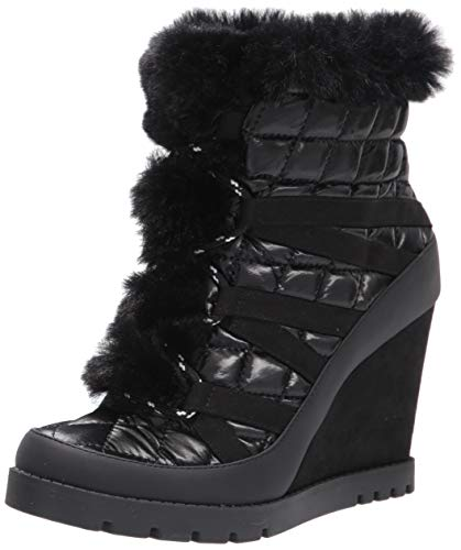 Jessica Simpson Women's Brixel Bootie Black 5 M US
