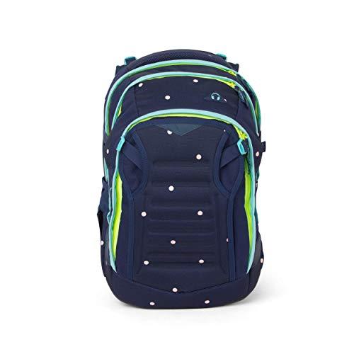 satch Match, Pretty Confetti ergonomischer Schulrucksack, erweiterbar auf 35 Liter, extra Fronttasche