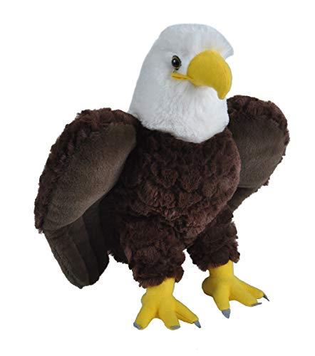 Wild Republic Bald Eagle Plush, Stuffed Animal, Plush Toy, Gifts for Kids, Cuddlekins 12 Inches
