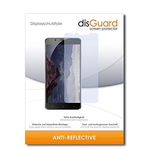 disGuard® Bildschirmschutzfolie [Anti-Reflex] kompatibel mit Blackview P2 [2 Stück] Entspiegelnd, Matt, Antireflektierend, Extrem Kratzfest, Anti-Fingerabdruck - Panzerglas Folie, Schutzfolie