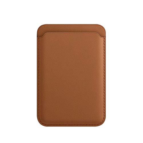 Leather Mag Magnetic Safe Mag Magnetic Safe portecarte magnétique pour portefeuille adapté à la mini coque iPhone 12 Pro Max