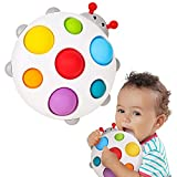 ALASOU 2021 New Silicone Flipping Busy Board |Baby Fidget Toy, Baby Sensory Toys for Toddler 1-3,| Sensory Toys for 1 Year Old |Travel Toy for 6-12 Months (Farm)