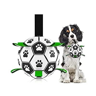Amazon - 50% Off on Dog-Soccer Ball-Interactive Water Toys-Tug of War-Dog Tug Toy
