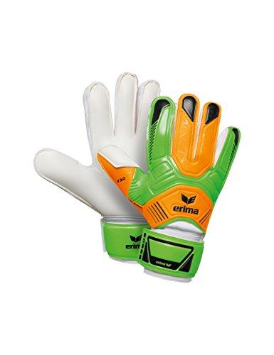 Erima Premier Training 3.0 Torwarthandschuhe, neon Green/Neon orange, 6,5