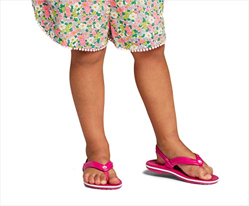 Crocs Unisex-Child Crocband Flip Flops | Sandals for Kids Ballet Flat