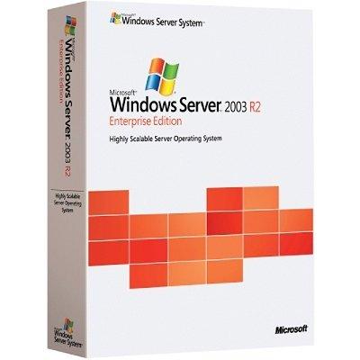 Preisvergleich Produktbild MS Windows Server 2003 Enterprise R2 SP2 32bit CD
