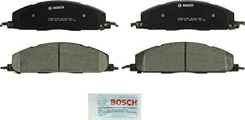 Bosch BC1400 QuietCast Premium Ceramic Disc Brake Pad Set For Dodge: 2009-2010 Ram 2500, 2009-2010 Ram 3500; Ram: 2011-2017 2500, 2011-2017 3500; Rear