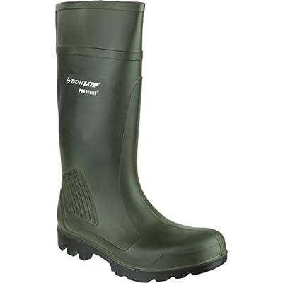 Dunlop Adults Unisex Purofort Professional Wellies (10 US) (Green)