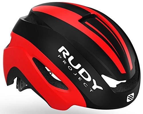 Rudy Project Volantis - Casco de Bicicleta - Rojo/Negro Contorno de la...
